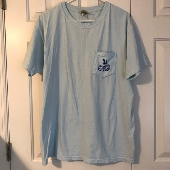 YoungLife comfort colors tee